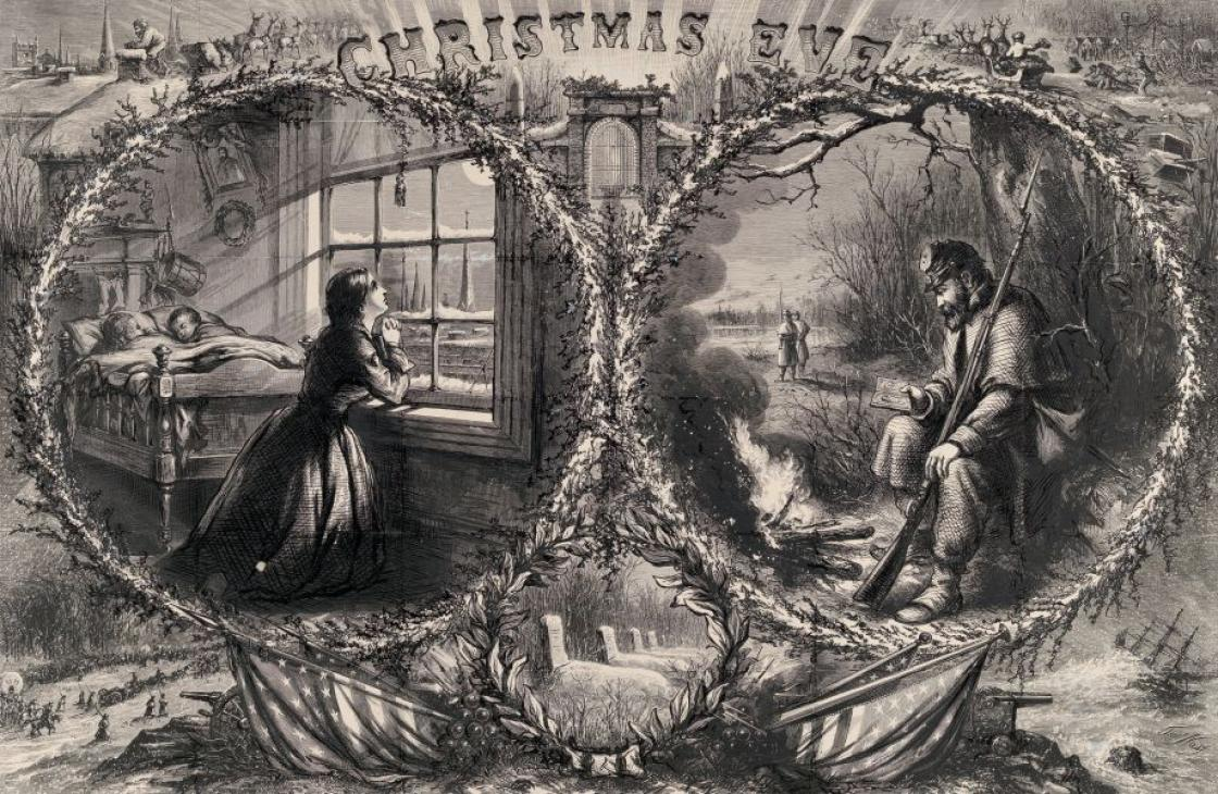 Christmas Eve, Harper's Weekly (January 3, 1863)