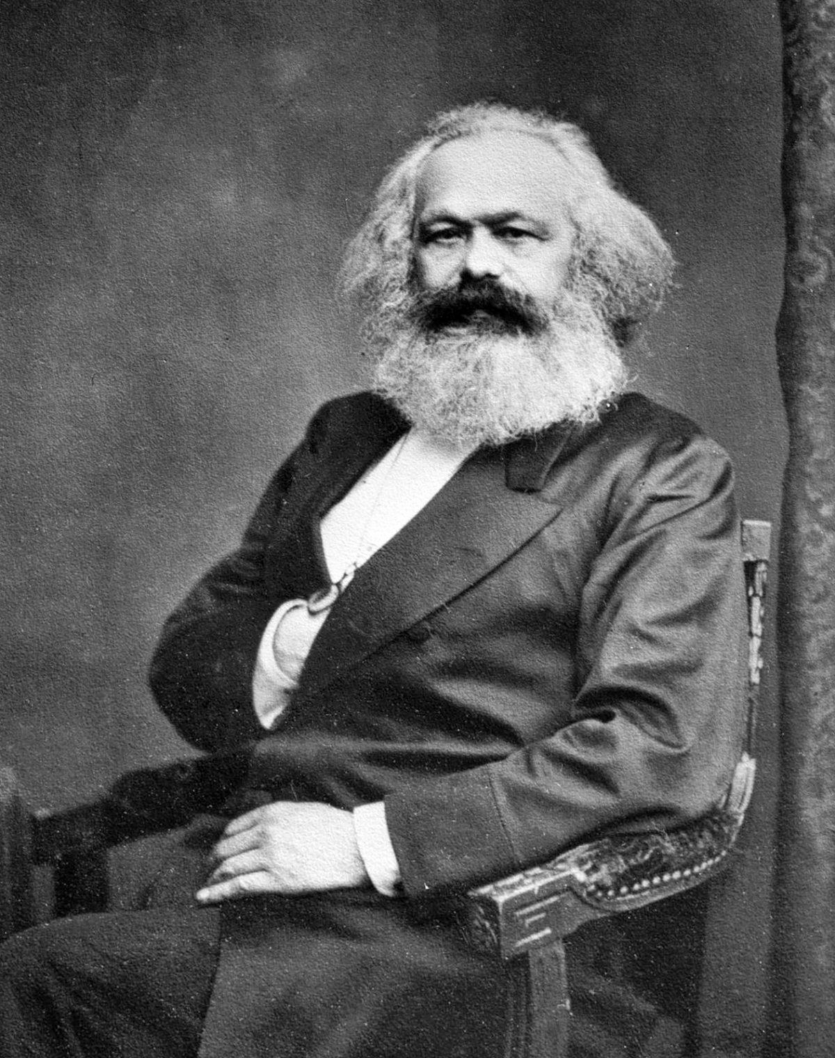 Karl Marx (ca. 1865)