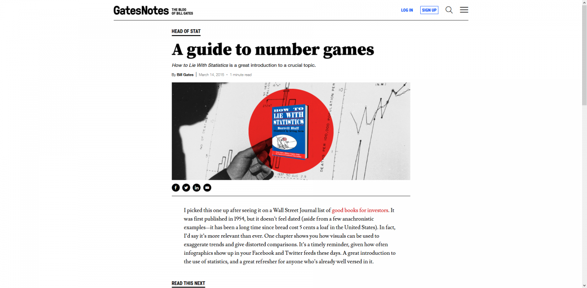 A guide to number games by Bill Gates (March 14, 2015)